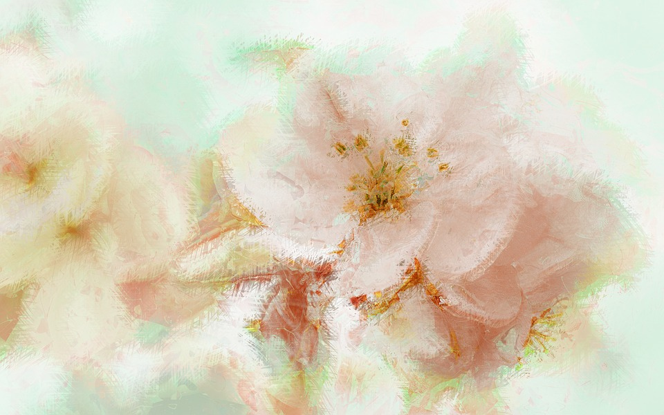 White flowers painting art free image on pixabay white flowers painting art background mightylinksfo