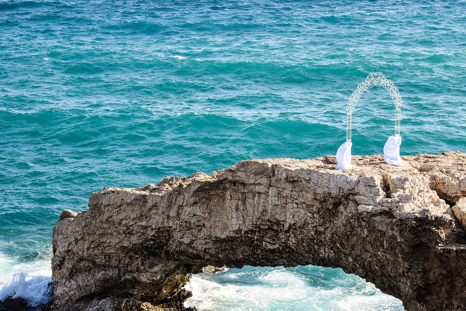 Cyprus, Ayia Napa, Love Bridge, Gate, Romantic, Wedding