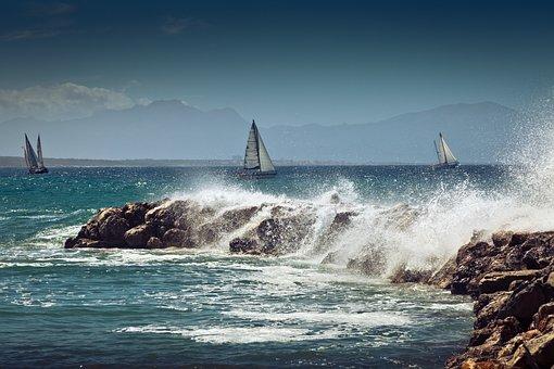 Mallorca - Impressionen - stürmisches Meer
