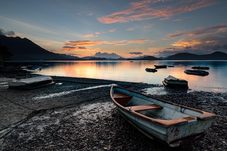 Mañana, Sunrise, Mar, Montaña, Natural, Geografía