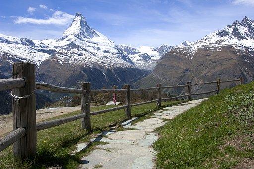 赖明, 阿尔卑斯山, 自然, 旅行, 高峰, 山, 瑞士, 高, 景观, 高山