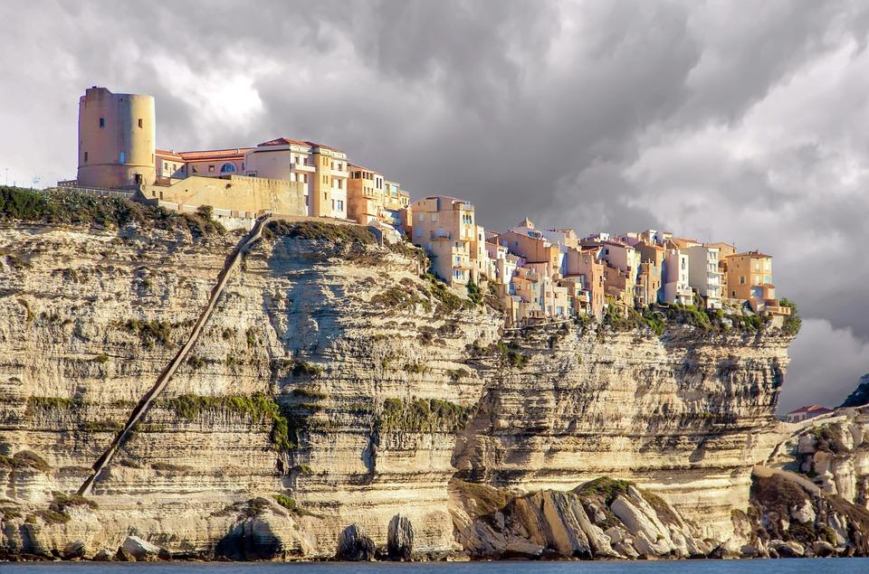 Xtian Du Gard, Bonifacio, Corse, Corsica, Landscape
