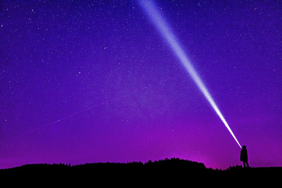 Éjszaka Fénykép, Vacsoráért, Éjszakai Égbolt, Star