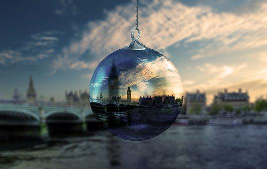Christmas, London, Christmas Ornament