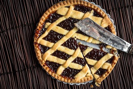 Tart, Jam, Dessert, Pastry, Food, Fruit