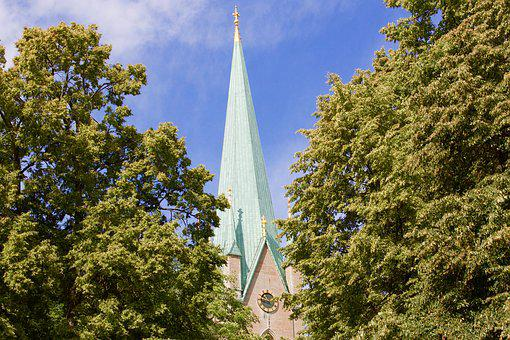 Church, Linköping, Sweden, Nature
