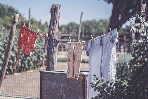 Clothesline, Laundry, Clean, Clothes