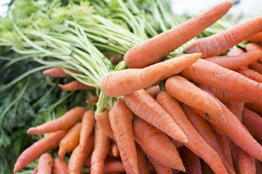 Carrot, Produce, Grocery, Farm, Table