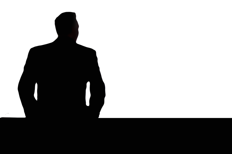 businessman silhouette view free image on pixabay