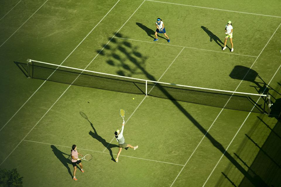 テニス, 運動, Doubleゲーム, スポーツ, 趣味, 球, 運動場, ペンス, 学校