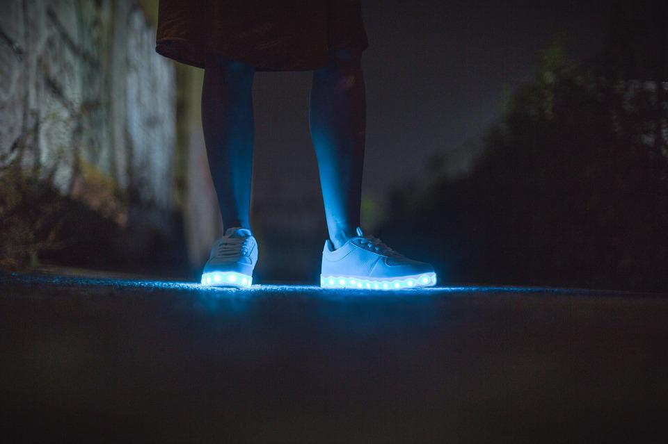 Holographic Light Up Shoes