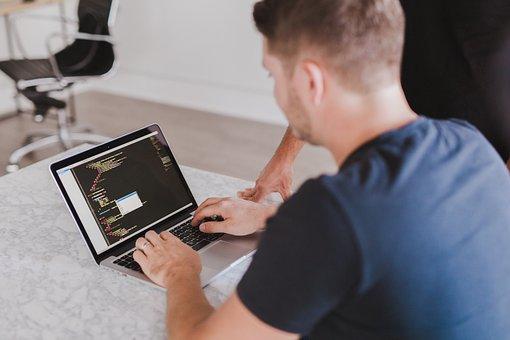 コード, コーディング, プログラミング, Html, 入力, 仕事, ビジネス