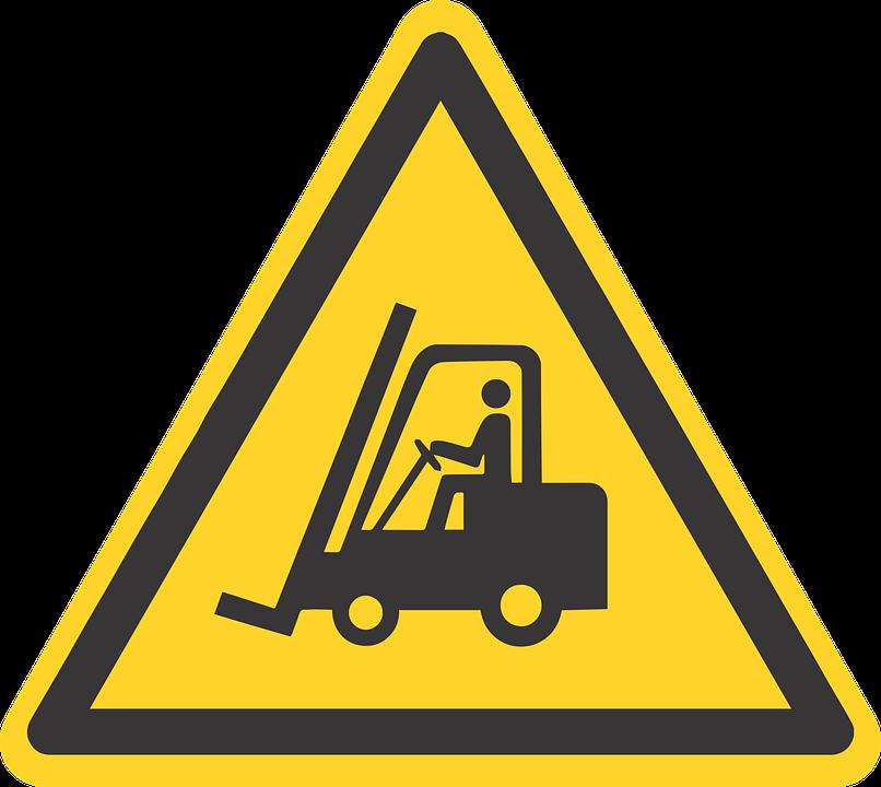 Forklift, Fork, Lift, Fork Removal, Warning