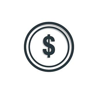 コイン, アイコンを, お金, ビジネス, ファイナンス, 銀行, 現金, 通貨