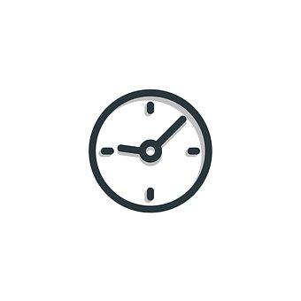 時間, アイコンを, クロック, シンボル, 記号, デザイン, ビジネス