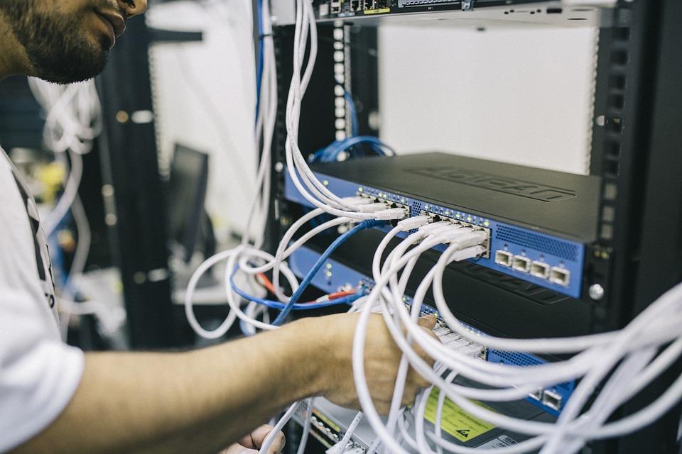 工程师, 纤维, Fieldengineer, 自由职业者, 工作, 市场上, 网络, 电信