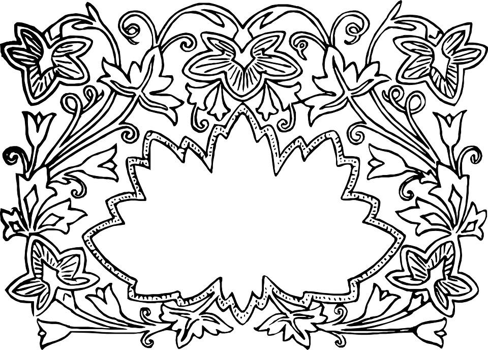 Bouquet Flower Decoration Pattern Design