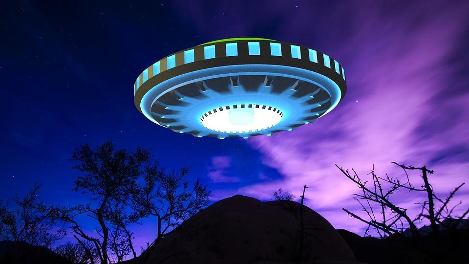 Ufo, Avaruusolento, Avaruusaluksesi, 3D, Tehdä, Sci-Fi