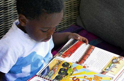 Read, Child, Picture Book, Book, Boy