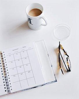Календарь, Очки, План, Работы, Стол