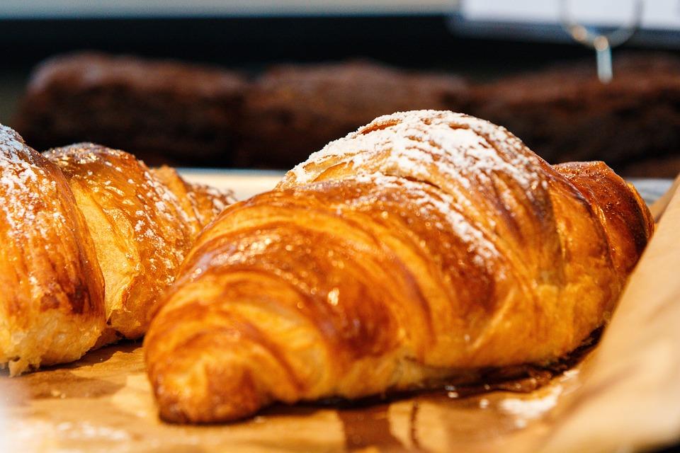 Croissant, Pan, Hornear, Los Alimentos, Sabor, Dulces