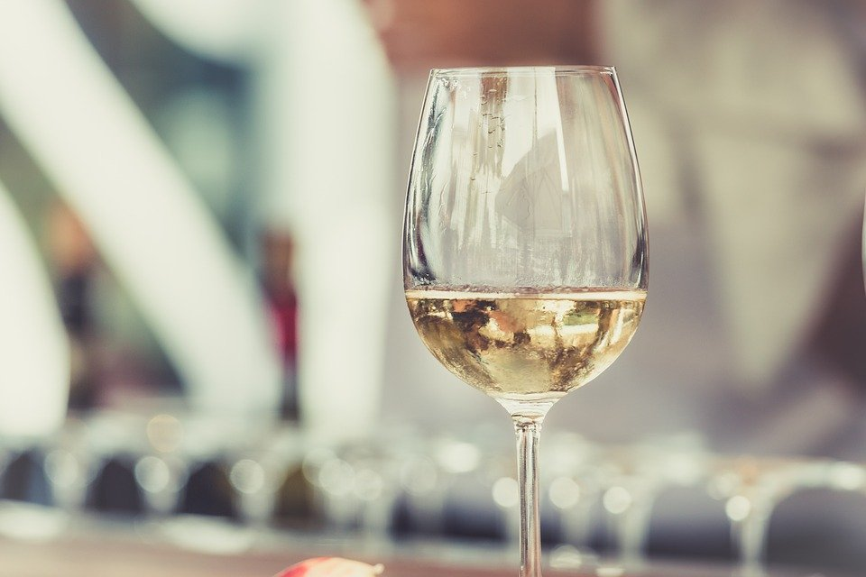 White, Wine, Glass, Alcoholic, Beverage, Drink, Chill