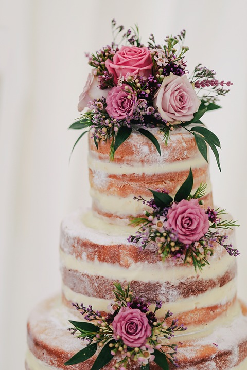 Hochzeit Kuchen Blume Kostenloses Foto Auf Pixabay