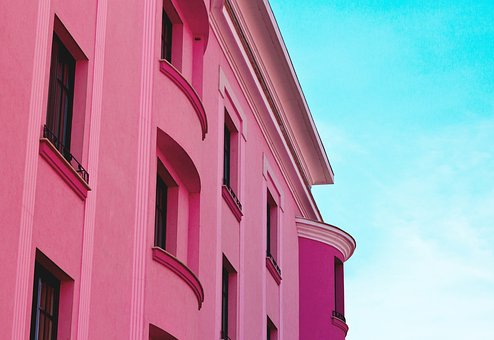 Architecture, Pink, Building