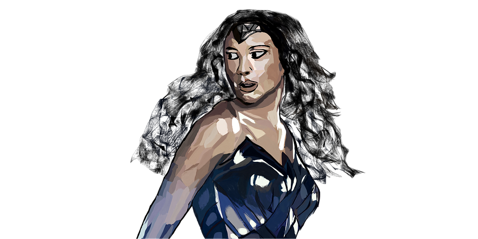 wonder woman gal gadot super hero woman graphic art