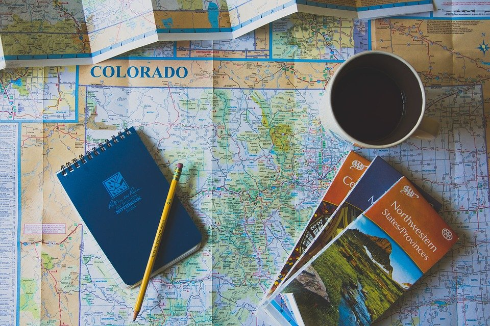 Geography world map free photo on pixabay geography world map paper brochure notebook pen gumiabroncs Image collections