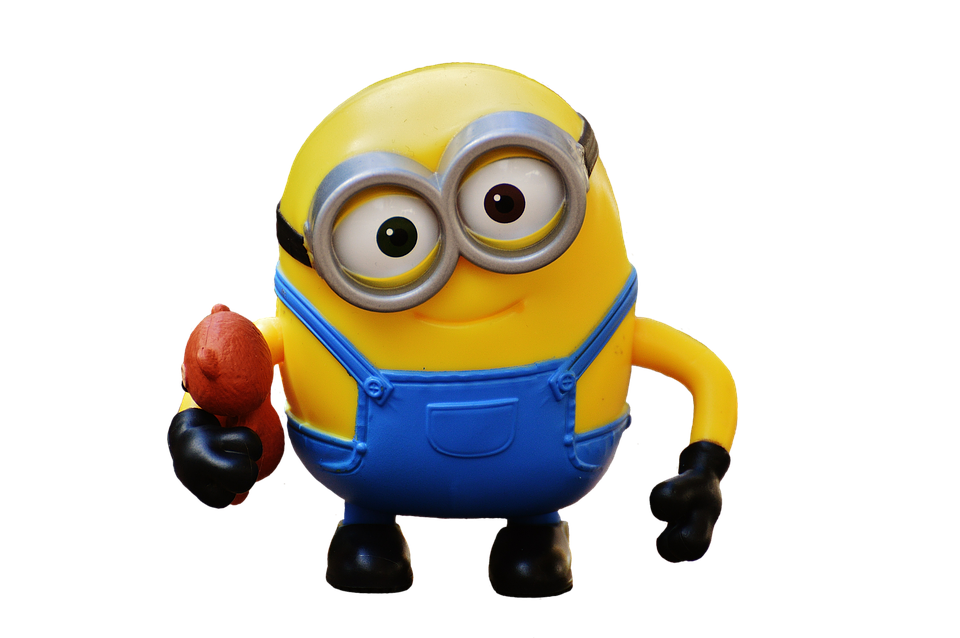 Minion, Figure, Funny, Cute, Toys