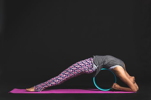 People, Woman, Pink, Yoga, Mat, Fitness