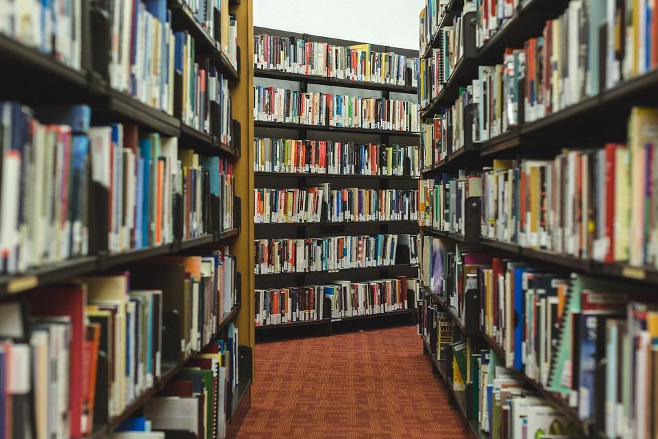 books research library shelves read - Library Bookshelves