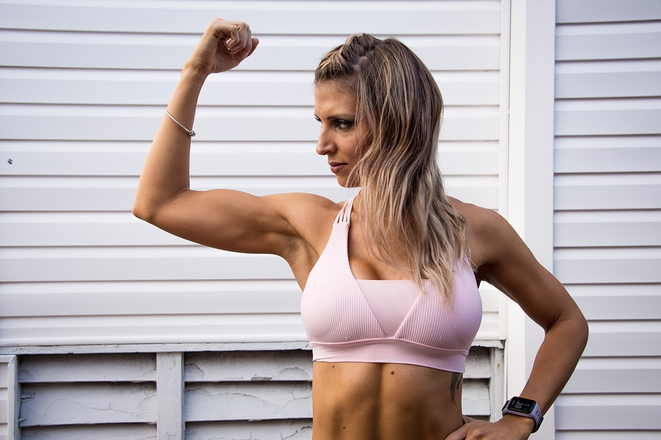 fit strong female free photo on pixabay
