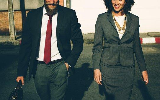 人, 企業, ビジネス, 男, 女性