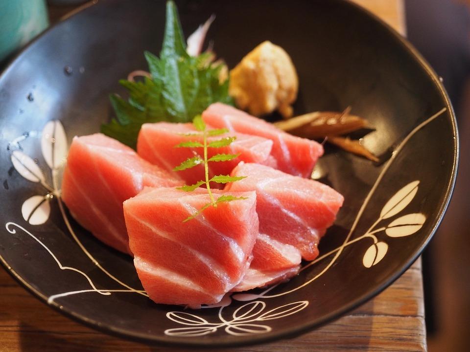 刺身, 食品, 魚介類, マグロ, 料理, 日本, グルメ, おいしい, 生