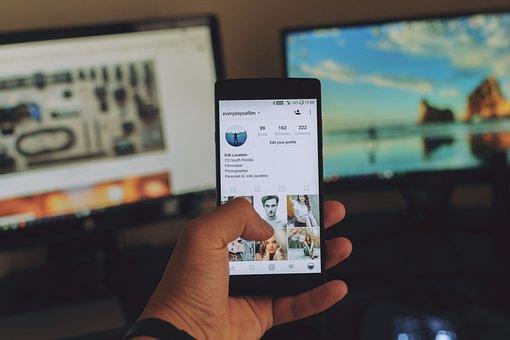 Mobile, Telepon, Media Sosial, Media