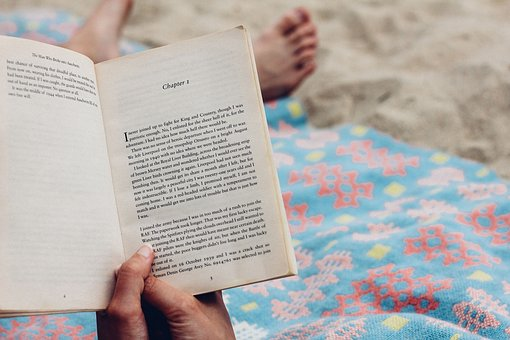 People, Reading, Book, Bed, Room