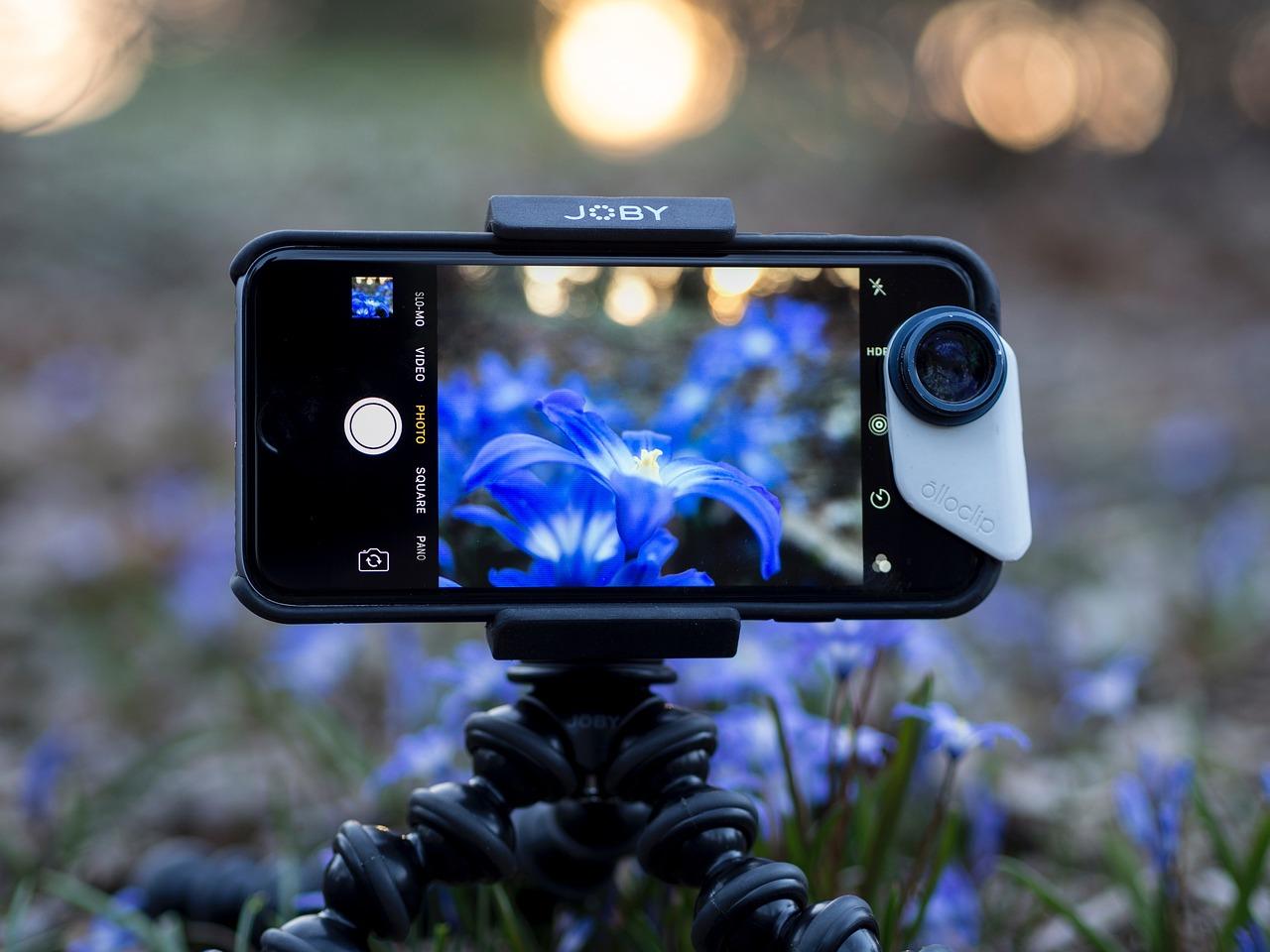 Профессиональное фотографирование на телефон