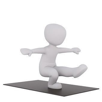 Yoga, Kondalini, Sport, 3Dman, 3D Model