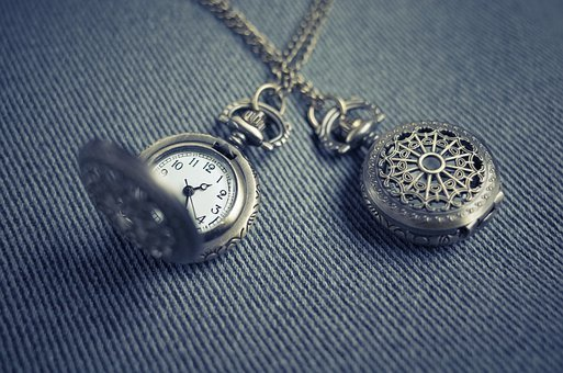 Pocket Watch, Locket, Watch, Timepiece