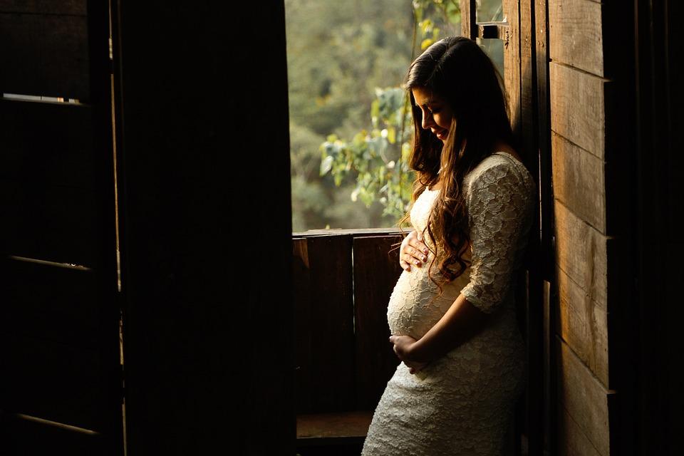 太陽, 日光, ウィンドウ, 人, 女性, 妊娠中, 赤ちゃん, 黒い太陽, 黒い画面, 黒女性