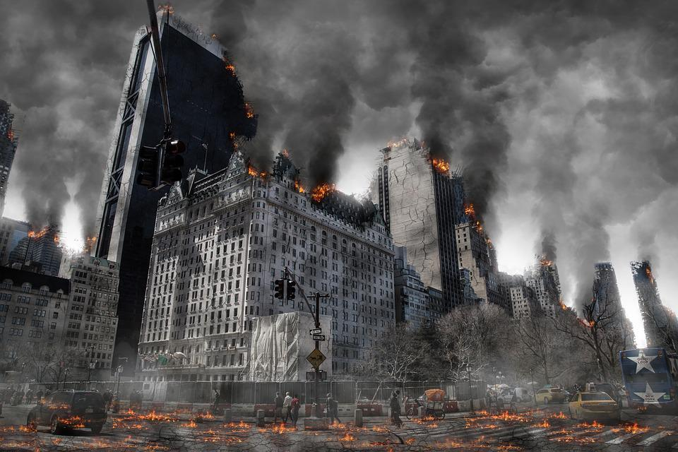 Apocalypse, Guerre, Armageddon, Destruction, Nucléaire