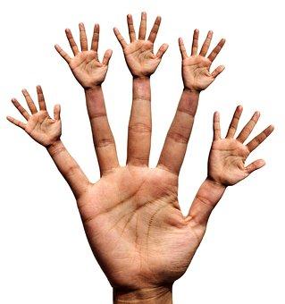 Hand, Hände, Finger, Daumen, Zeigefinger