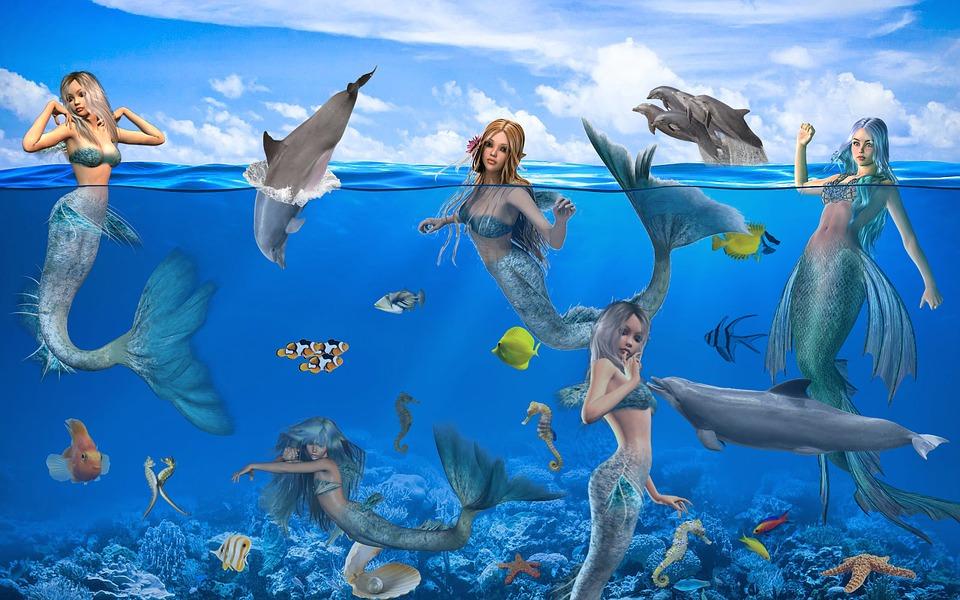 fantasy mermaids mystical fairy 183 free image on pixabay