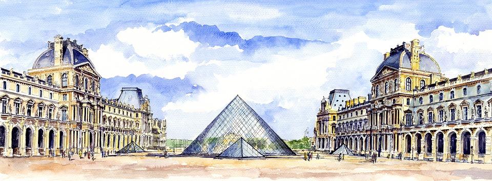 Arquitectura, Louvre, El Museo