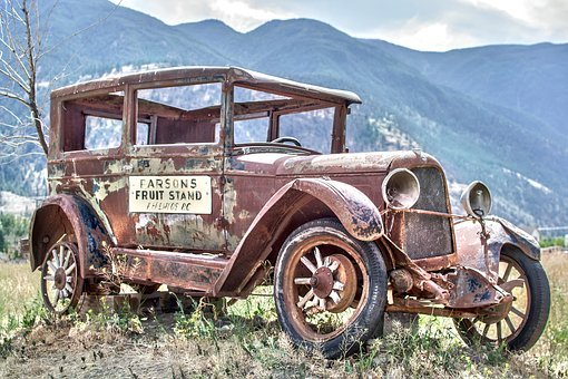 Vintage, Truck, Old, Car, Rust, Rusty