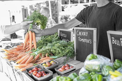 Vegetable, Produce, Fresh, Sales, Vendor