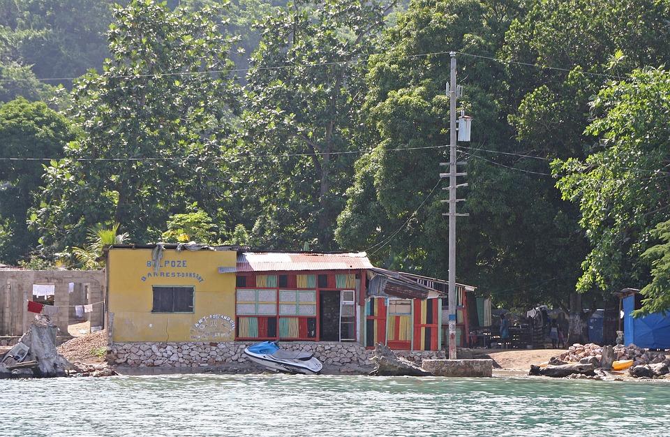 Haiti, Karaibów, Morze, Ubóstwa, Ruiny