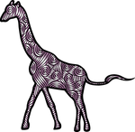 giraffe, animal, mammal